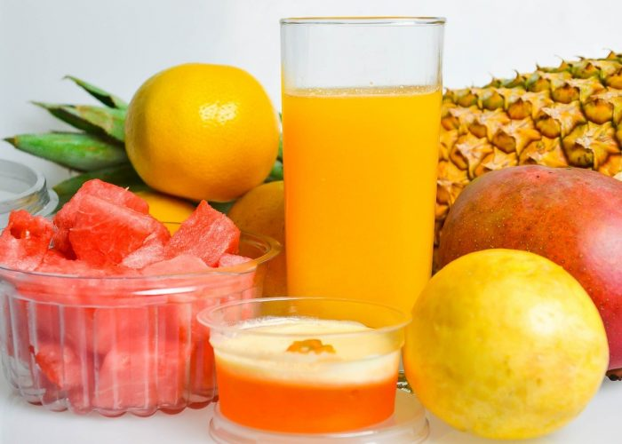 fruit juices an drinks